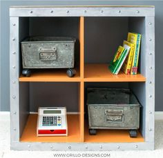 See 20 of the best Ikea Kallax Hacks ideas and the different ways you can DIY them for your home. This fabulous industrial shelf is perfect for any adult space or kids room.