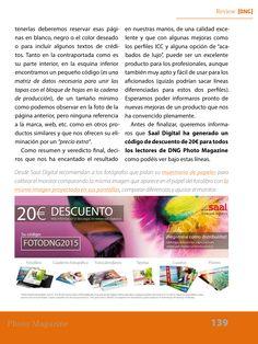 Review Saal Digital DNG 111, código descuento de 20€ para los lectores FOTODNG2015 http://www.magzter.com/ES/DNG-Digital-Photo-Magazine-S.L./DNG-Photo-Magazine/Art