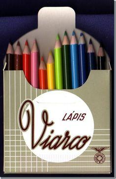 Santa Nostalgia: Viarco – Os lápis – As cores da nossa infância