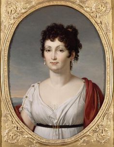 Réunion des musées nationaux-Alexandrine de Bleschamps, Princess of Canino, second spouse of Lucien Bonaparte.