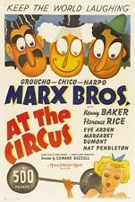 AT THE CIRCUS MOVIE POSTER The Marx Brothers VINTAGE 2