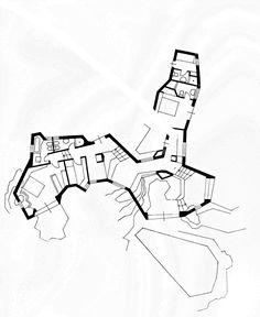 Alberto Ponis, Scalesciani'House, plan