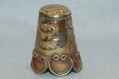 Vintage / Alpaca / Thimble / Silver / Sewing by AmericanHomestead, $9.50