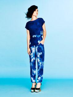 d9f5011bf4f indigo itajime colored Jumpsuit! Blue Jumpsuits