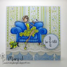 Beautiful you by maryj68 - Cards and Paper Crafts at Splitcoaststampers