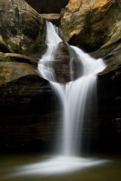 Cedar Falls at Hocking Hills State Park, Cedar Grove, Ohio (by benklea)
