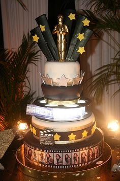 hollywood themed cakes   hollywood cake image search results