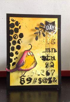 Bird crazy de Tim Holtz !!