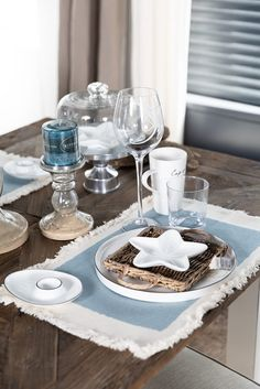Rivera Maison, Table Decorations, Interior, Furniture, Home Decor, Dinning Room Ideas, Cottage Chic, Linen Fabric, Colors