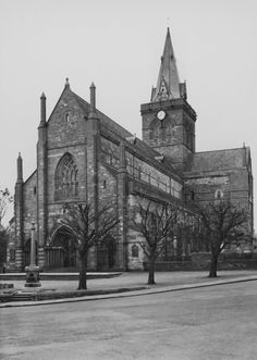 St Magnus Cathedral, Kirkwall. Digital image of O/497.