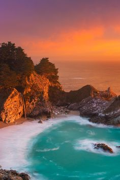 """sundxwn: """"McWay Falls by Ryan Engstrom """""""