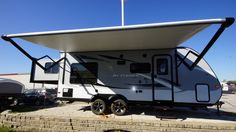 CAREFREE FAMILY FUN FOR EVERYONE!!!  2017 Jayco Jay Feather X213 This RV is fun for everyone! The master bedroom area is held in a slideout to give this floor plan an open feel! Your little travelers will love the awesome bunks! Post-trip cleanup and maintenance will be easy with a black tank flush and outside shower! The X213 is 24' long and weighs 4,215 lbs. Give our Jay Feather expert Chip McCue a call 616-260-0278 for pricing and more information!