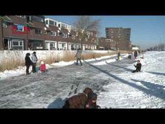 ▶ Snow fun in Hoofddorp