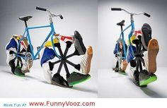 cool Funny shoe cycle - funny pics