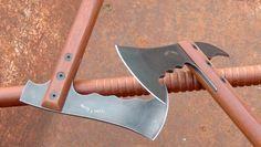 """Really nice modern/tactical """"Fokos"""" or shepherd's axe."""