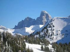 Snow on the Tetons ♥