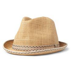 Paul Smith - Christy's Straw Trilby Hat