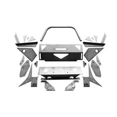 Save money and get in touch with your creative side by building your own CBI front bumper for your All parts and mounting hardware are provided. Custom Truck Bumpers, Jeep Bumpers, Custom Trucks, Toyota 4runner 1995, Toyota Tacoma, Sidekick Suzuki, Tacoma Bumper, Truck Roof Rack, Diy Bumper
