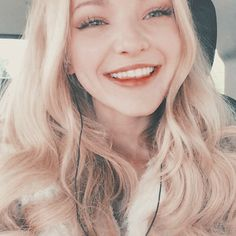 """Dove Cameron was at KTLA on Thursday (April The """"Liv and Maddie"""" starlet spoke with them about upcoming episodes of her Disney Channel series, Brown Hair Pale Skin, Light Brown Hair, Dark Hair, Red Hair, Dark Brown, Dov Cameron, Dove Cameron Style, Millie Bobby Brown, Celebs"""