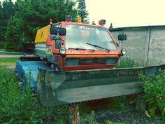 Prinoth BIG Turbo im Sommerschlaf, gesehen in Oberbärenburg, Sachsen. #Prinoth #Groomer #Turbo