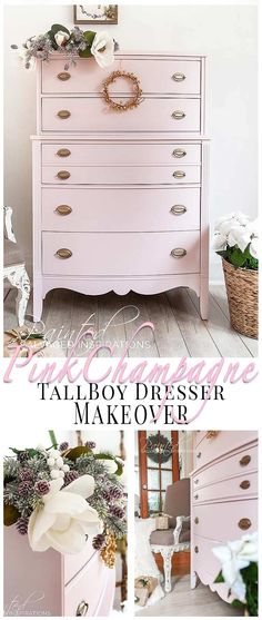 150 Pink Painted Furniture Ideas In, Painted Furniture Ideas 2021