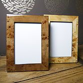 Classic Wood Grain Picture Frame In Gift Box