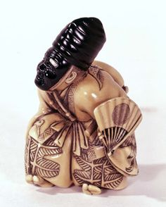 Sanbaso dancer: ivory and ebony, Rantei