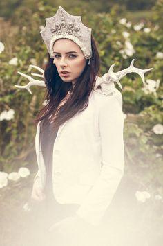 Couture 'Winter Goddess' Kokoshnik Headdress by livfreecreations, £160.00