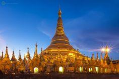 Shwedagon Pagoda, Yagon, Myanmar