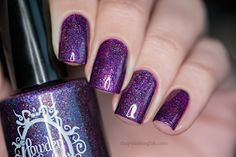 The Polishing Life: Powder Perfect - Velvet Night Duo swatches and review