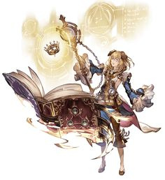 View an image titled 'Ceylan, Battle Art' in our Granblue Fantasy art gallery featuring official character designs, concept art, and promo pictures. Female Character Design, Character Design References, Character Design Inspiration, Character Concept, Character Art, Concept Art, Anime Warrior, Fantasy Warrior, Fantasy Heroes
