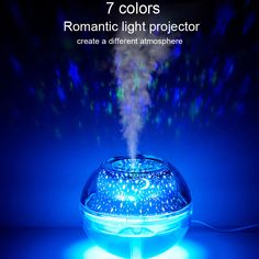 7 Colors LED Essential Oil Aroma Diffuser Ultrasonic Mist Humidifier Home Decor Aromatherapy Humidifier, Ultrasonic Cool Mist Humidifier, Humidifier Essential Oils, Aroma Essential Oil, Essential Oil Diffuser, Air Diffusers, Aroma Diffuser, Led Night Light, Air Purifier