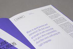99U Quarterly Magazine :: Issue No.1 by Raewyn Brandon, via Behance