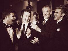 Sean Astin, Elijah Wood, Billy Boyd, Ian McKellen, and Dominic Monaghan
