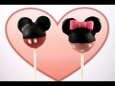 Minnie Mouse Cakepops! Learn how to make these using our FREE online video tutorials.  Visit YouTube channel MyCupcakeAddiction for these and lots more cupcake and cakepop decorating tutorials!