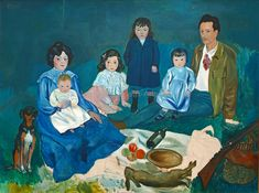 Pablo Picasso, 1903, La Famille Soler