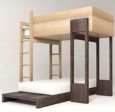 Decoración  Literas muy modernas para dormitorios infantiles