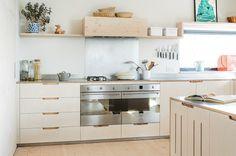 Perfekt Küche Ohne Oberschränke   Ist Eine Moderne Und Elegante Lösung. Bevor Sie  Jedoch Die Idee Umzusetzen, Wird Es Gründlich Ihre Zukunft Innenraum Planen.