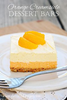 My husband is a huge fan of both Jell-O and Orange Creamsicles, so I knew he'd love this dessert. And he wasn't the only one! It really does taste like an Orange Creamsicle, and with su...
