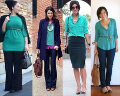 Remixing Teal Tops