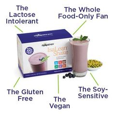 And it tastes 'delicious'. IMO :) http://foods4thought.isagenix.com/en-CA/products/categories/individual-items/natural-berry-harvest-shake