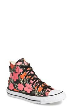 Converse Chuck Taylor® All Star® Andy Warhol Collection High Top (Women) available at #Nordstrom