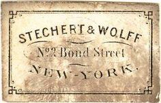 Stechert Wolff+NY