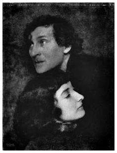 Marc Chagall et Bella Rosenfeld (1920)