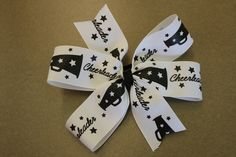 Cheerleading hair bows!