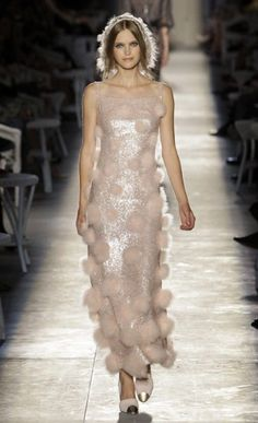 Pearls & Caramel: Dresses at Chanel Haute Couture 2012
