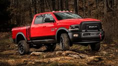 "Ram unveils ""Macho"" 2017 Power Wagon off-road pickup"