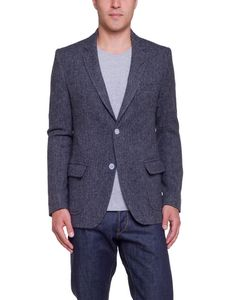 Band Of Outsiders 2 Button Wool Blazer Grey