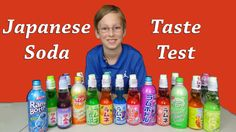 Japanese Ramune Soda Pop Taste Test Review Collintv