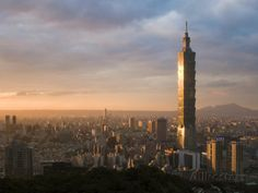 Taipei 101, Taipei, Taiwan Photographic Print by Michele Falzone at AllPosters.com